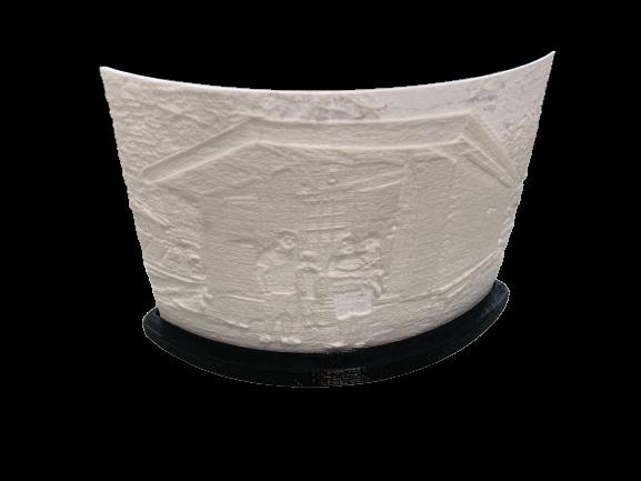 litofania 3d personalizada al mejor precio vela soporte negro