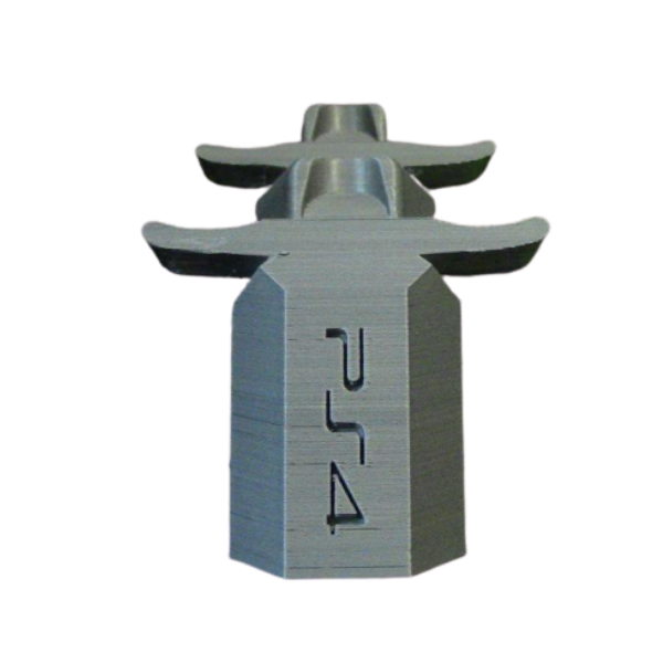 soporte 2 mandos playstation ps4 plata