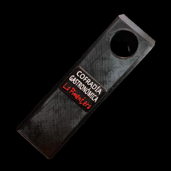soporte vino inclinado botella personalizado