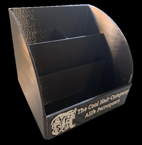 portalapices 3d negro personalizado